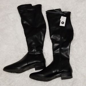A New Day Breanna Black Over the Knee Boots